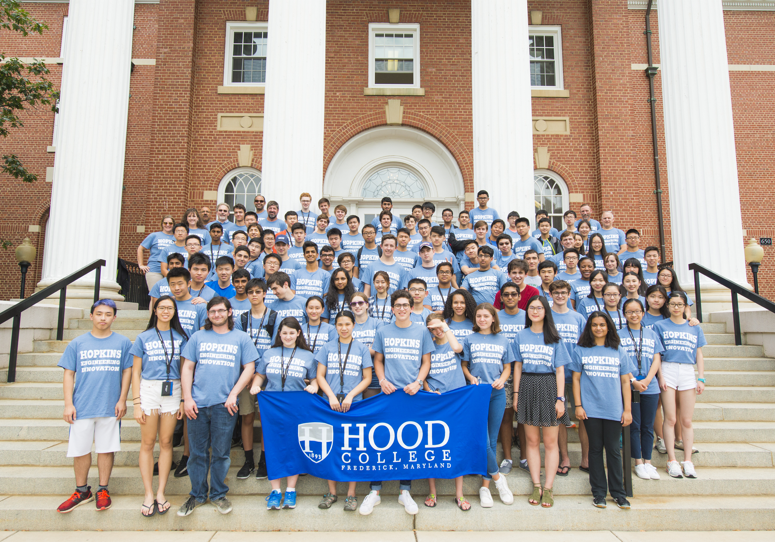Hood College Frederick Md Johns Hopkins Engineering Innovation